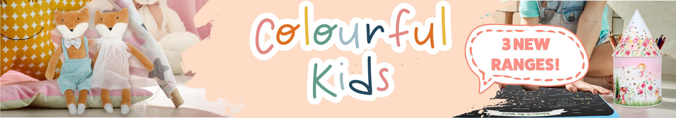 Colourful Kids Plush Toys