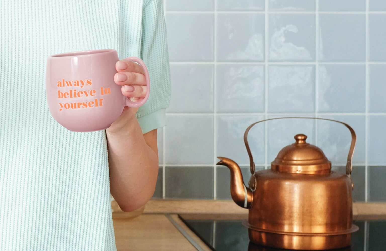 Quirky & inspirational  mugs for your bestie