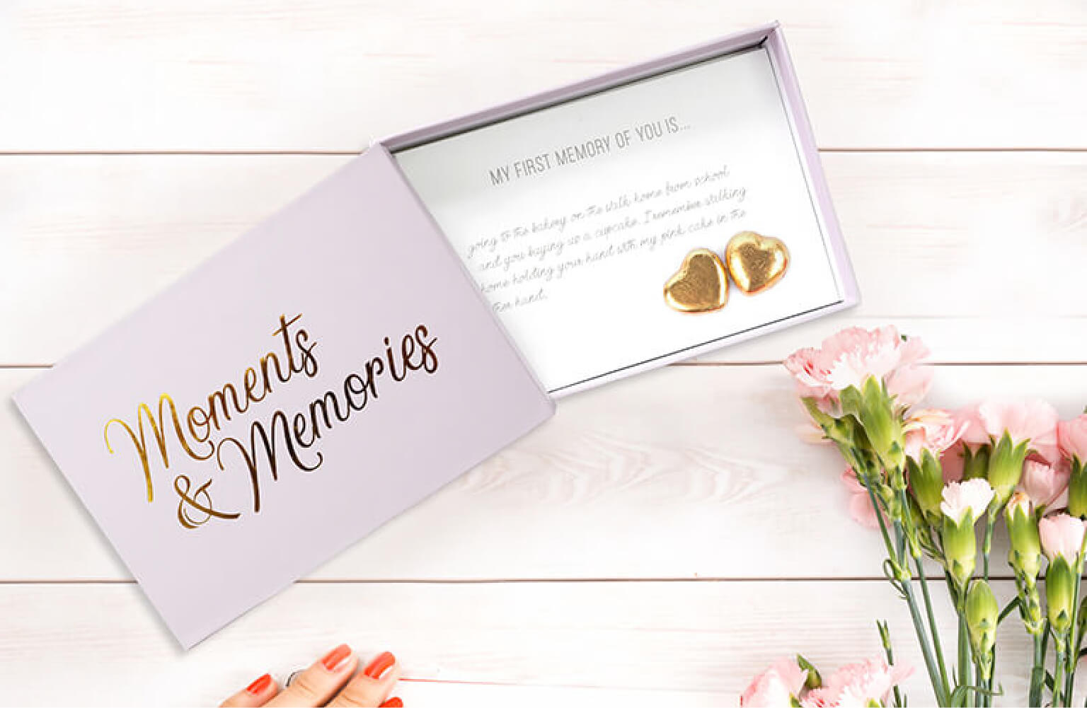 Meaningful prompt cards for a heartfelt gift