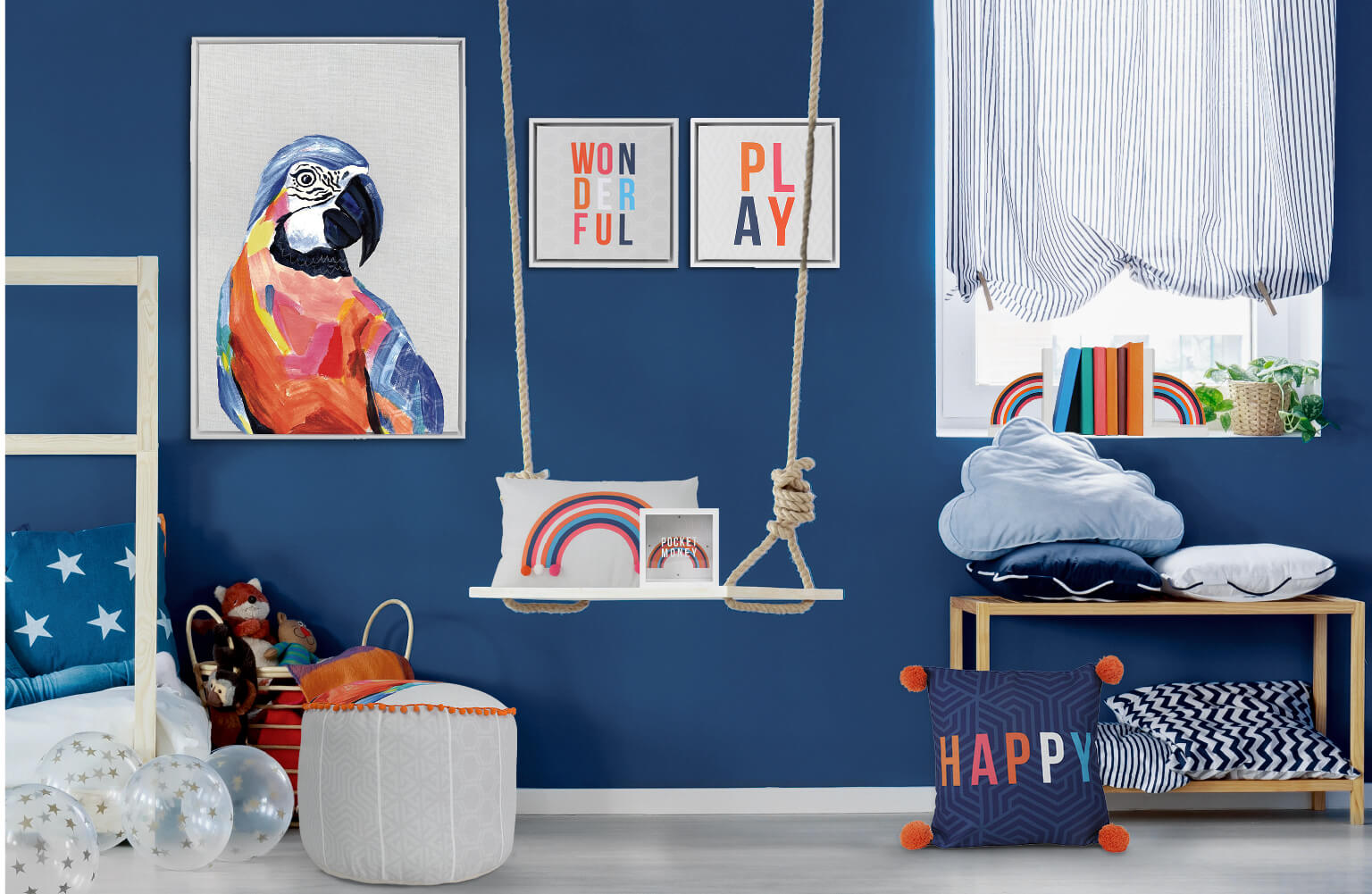Boldly vibrant homewares collection