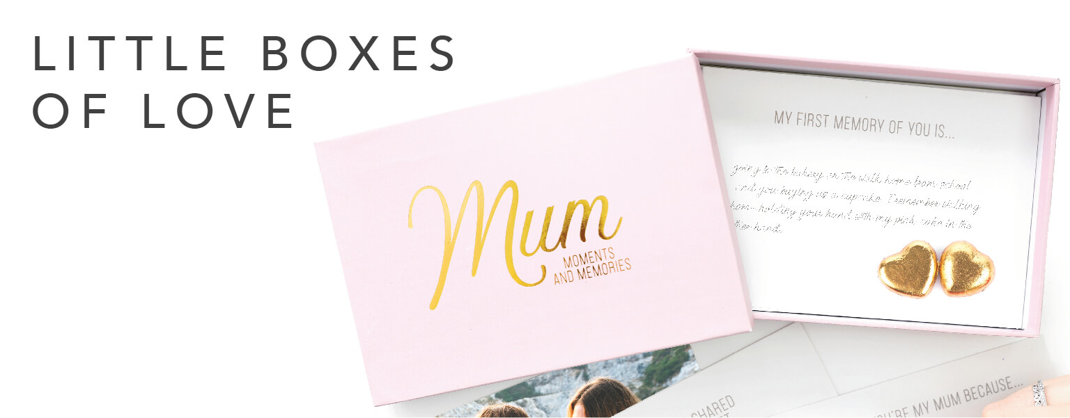 Shop our Little Boxes of Love collection!